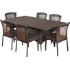 Darby Home Co Roquefort 7 Piece Dining Set