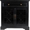 Darby Home Co Cafferata 1 Drawer 2 Door Accent Chest