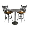 Darby Home Co Vandyne 3 Piece Bar Set with Cushions