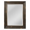 Darby Home Co Oversize Aged Wood Frame Mirror