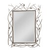 Darby Home Co Forrester Metal Frame Beveled Mirror