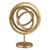 Darby Home Co Aluminum Rings Sculpture