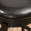 """Darby Home Co Laver 25.6"""" Swivel Bar Stool (Set of 2)"""