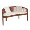 Darby Home Co Gridley Wood Garden Bench