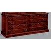 Darby Home Co Prestbury 8-Drawer Lateral File Credenza Cabinet