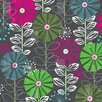 Darby Home Co Waynesville Town Blooms Shower Curtain