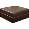 Darby Home Co Dingess Leather Storage Ottoman
