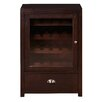 Darby Home Co Briggs 20 Bottle Floor Wine Cabinet