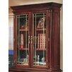 Darby Home Co Prestbury 2 Door Storage Cabinet with Leaded Glass Doors