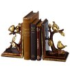 Darby Home Co Gold Bird on Branch Book Ends (Set of 2)