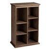 "Darby Home Co Tillson Burnt Oak Display Shelf 45.75"" Cube Unit"