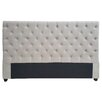 Darby Home Co Abbot Bridge Decorative Glam Upholstered Headboard