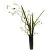 Darby Home Co Minimalist Arrangement with Long Grass and Berry Branch