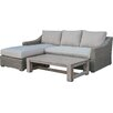 Darby Home Co Naperville Outdoor Wicker 3 Piece Deep Seating Group with Cushion (Set of 2)