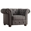 Darby Home Co Conners Tufted Button Arm Chair