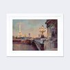 Darby Home Co Parisian Evening Framed Painting Print