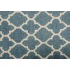 Darby Home Co Mackinaw Hand-woven Blue/Beige Area Rug