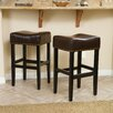 "Alcott Hill Jennette 30"" Bar Stool with Cushion (Set of 2)"