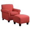 Alcott Hill Azariah Arm Chair & Ottoman