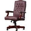 Alcott Hill Kirkland Swivel Leather Office Chair