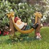 Rocky Garden Gnome Statue - Alcott Hill Garden Statues and Outdoor Accents