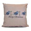 Alcott Hill Decorative Holiday Word Print Throw Pillow
