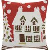 Alcott Hill Caldello Holiday Hooked Wool Throw Pillow