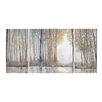 Alcott Hill 3 Piece Painting Print on Wrapped Canvas Set