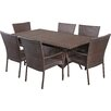 Alcott Hill Fort Smith 7 Piece Dining Set