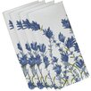 Alcott Hill Orchard Lane Lavender Floral Napkin (Set of 4)