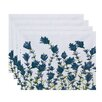 Alcott Hill Orchard Lane Lavender Floral Placemat (Set of 4)
