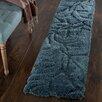 Alcott Hill Northumberland Hand-Woven Blue Area Rug