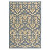 Alcott Hill Prospect Blue/Natural Outdoor Rug