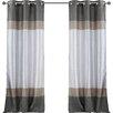 Alcott Hill Everson Grommet Curtain Panel (Set of 2)