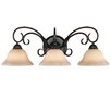 Alcott Hill Gaines 3 Light Bath Vanity Light