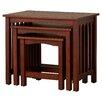 Charlton Home Oakcrest 3 Piece Nesting Tables