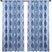 Charlton Home Natalie Single Curtain Panel