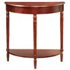 Charlton Home Carlisle Half-Circle Console Table