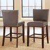 "Varick Gallery Tiffany 24"" Bar Stool with Cushion (Set of 2)"