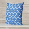 Varick Gallery Print Cotton Throw Pillow