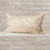 Varick Gallery Salisbury Foil Tile Lumbar Pillow