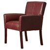 Varick Gallery Milliken Leather Executive Lounge Chair