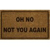 Varick Gallery Rodin Oh No Not You Again Doormat