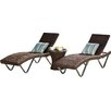 Varick Gallery Champlost 3 Piece Lounge Seating Group