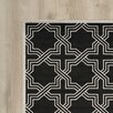 Varick Gallery Waverly Place Anthracite/Ivory Indoor/Outdoor Area Rug