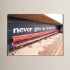 Varick Gallery Never Give Up by Lisa Weedn Photographic Print on Plaque