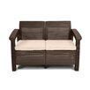 Varick Gallery Colona All Weather Outdoor Loveseat with Cushion