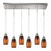 Varick Gallery Bensenville 6 Light Kitchen Island Pendant