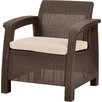 Varick Gallery Colona All Weather Outdoor Arm Chair with Cushion