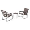 Varick Gallery Ormes 3 Piece Rocker Seating Group with Cushion
